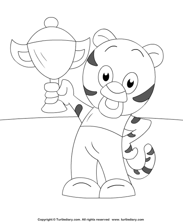 tiger cub coloring pages - photo#16