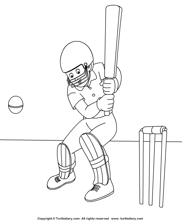 Cricket Coloring Page