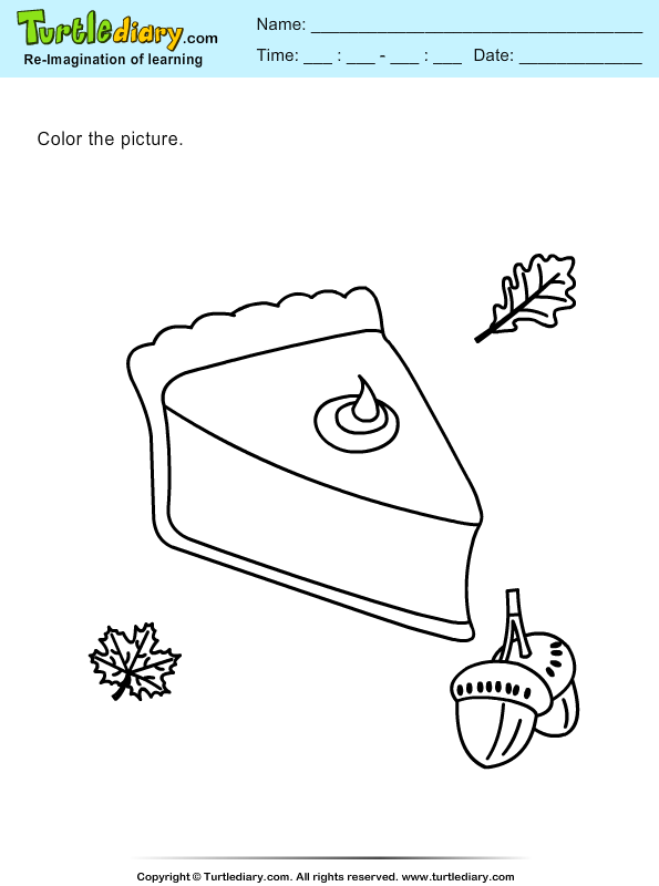 Color a Pie Slice