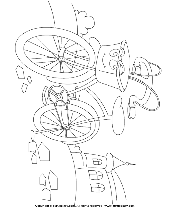 Cycle Coloring Page