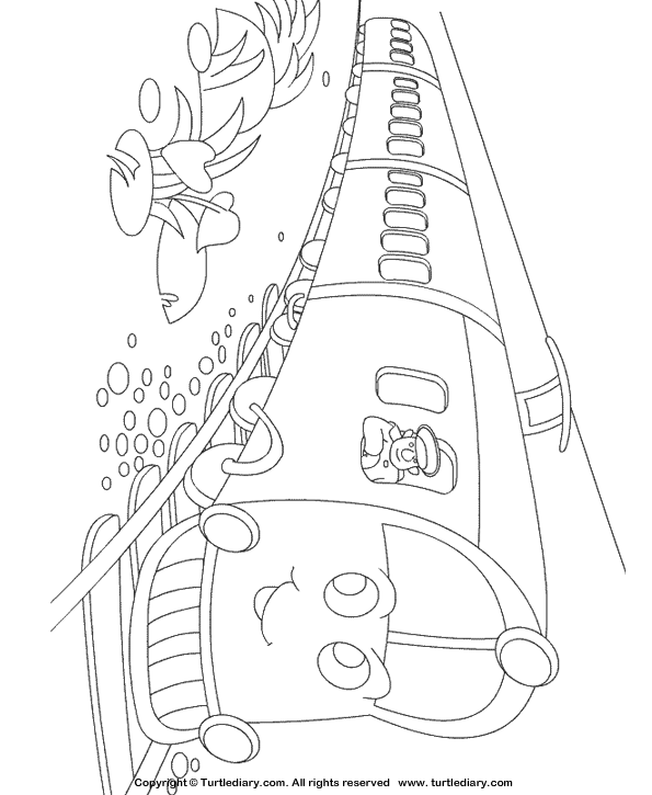 Train Coloring Page