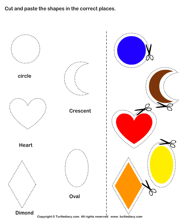 Preschool Cut And Paste Worksheets Free Worksheets Library – Preschool Cutting Worksheets