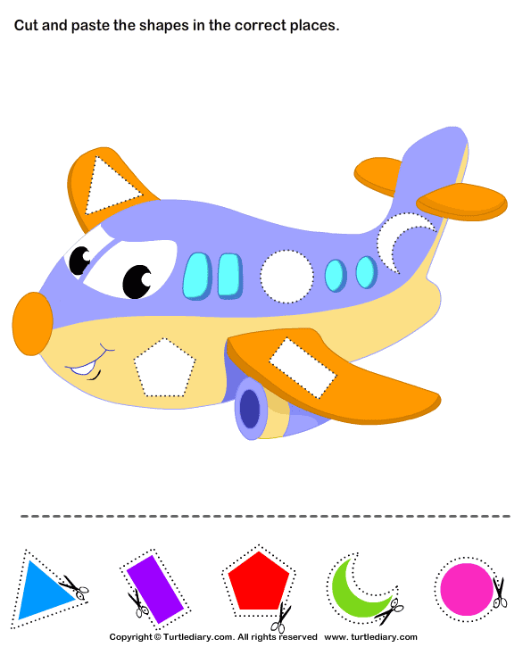 math worksheet : cut and paste craft activities for kindergarten  k5 worksheets : Cut And Paste Worksheets Kindergarten
