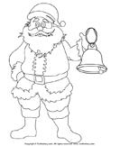 Color a Santa