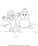 Color Snowman