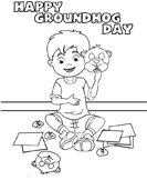 groundhog - Preschool