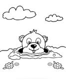 groundhog - Preschool