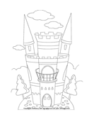 Color a Castle