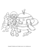 Color an Astronaut