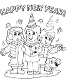 new-year - First Grade