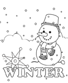 winter - Kindergarten