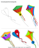 Cut and Paste Missing Kite