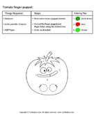 Tomato Puppet