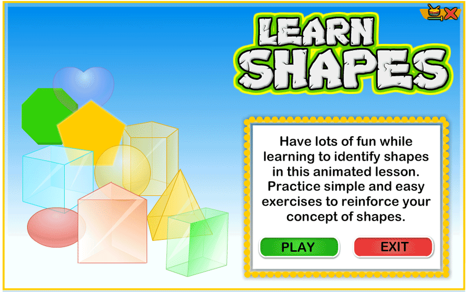 Teaching Shapes To Kindergarten Kids
