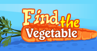 Find the Vegetable - Vocabulary - Preschool