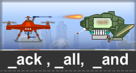 Ack All And Words Typing Aircraft - -ack words - First Grade
