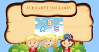 Alphabet Balloon - Alphabet - Preschool