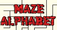 Alphabet Maze - Alphabet - Preschool