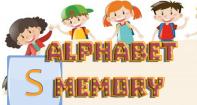 Alphabet Memory - Alphabet - Preschool