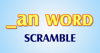 An Words Scramble - -an words - First Grade