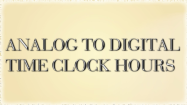 Analog to Digital Time Hours Clocks - Date and Telling Time - Second Grade