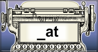 At Words Speed Typing - -at words - First Grade