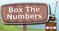 Box the Numbers - Mixed Operations - Third Grade