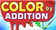 Color by Addition - Addition - Kindergarten