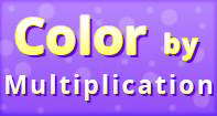 Color by Multiplication - Multiplication - Second Grade