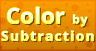 Color by Subtraction - Subtraction - First Grade