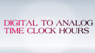 Digital to Analog Time Clocks - Date and Telling Time - Second Grade