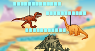 Dinosaur 1 Labeling  - Picture Games - Second Grade