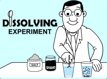 Dissolving Experiment