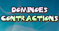 Dominoes Contractions - Contractions - Fourth Grade