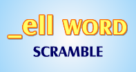 Ell Words Scramble - -ell words - Second Grade