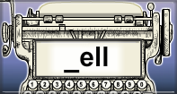 Ell Words Speed Typing - -ell words - Second Grade