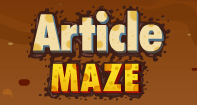 Article Maze - Determiners - First Grade
