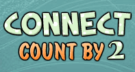 Connect Count by 2 - Whole Numbers - First Grade