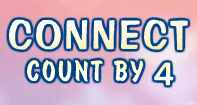 Connect Count by 4 - Counting - First Grade