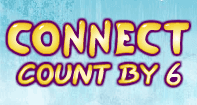 Connect Count by 6 - Whole Numbers - First Grade