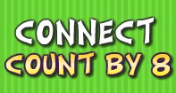 Connect Count by 8 - Whole Numbers - First Grade