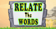 Relate The Words - Word Games - First Grade