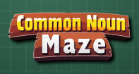 Common Noun Maze - Noun - Second Grade