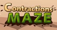 Contractions Maze - Reading - Third Grade
