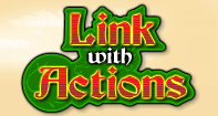 Link with Actions - Verb - Third Grade