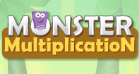 Monster Multiplication - Multiplication - Third Grade