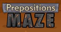 Preposition Maze - Preposition - Fourth Grade
