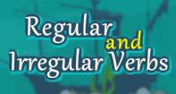 Regular and Irregular Verbs - Verb - Fourth Grade