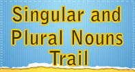 Singular and Plural Noun Trail - Noun - Fourth Grade