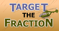 Target the Fraction - Fractions - Fourth Grade